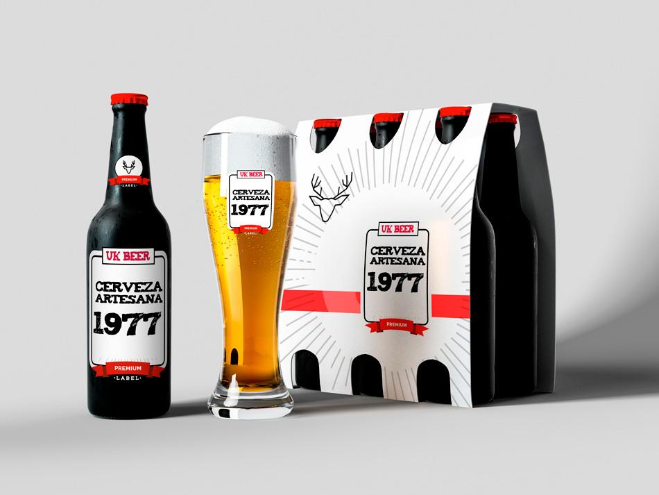 Etiquetas para cerveza artesanal