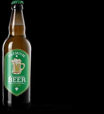 Etiqueta de cerveza