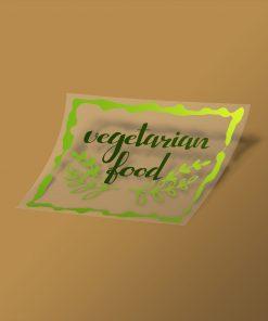 Etiqueta reserva de blanco