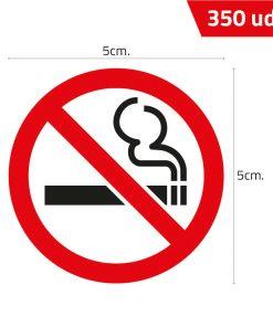 Pegatina no fumar